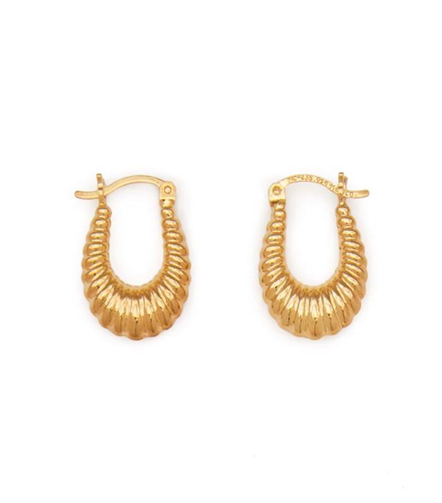 Tuza Jewelry Masha Hoop Earrings