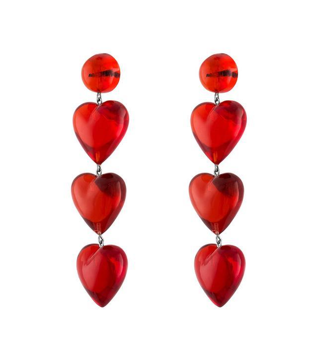 Tuza Jewelry Rojo Drop Earrings