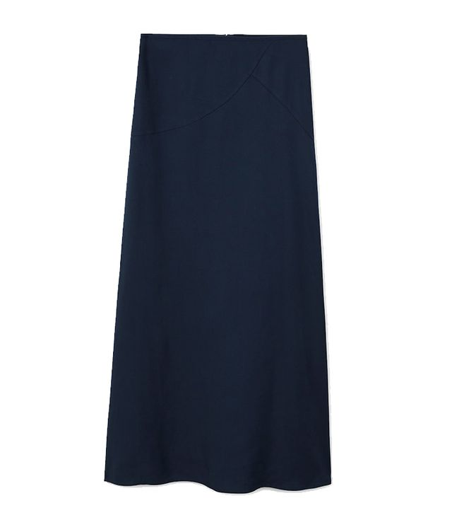Mango Flowy Long Skirt
