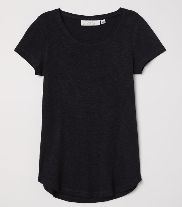 H&M Short-Sleeved Jersey Top