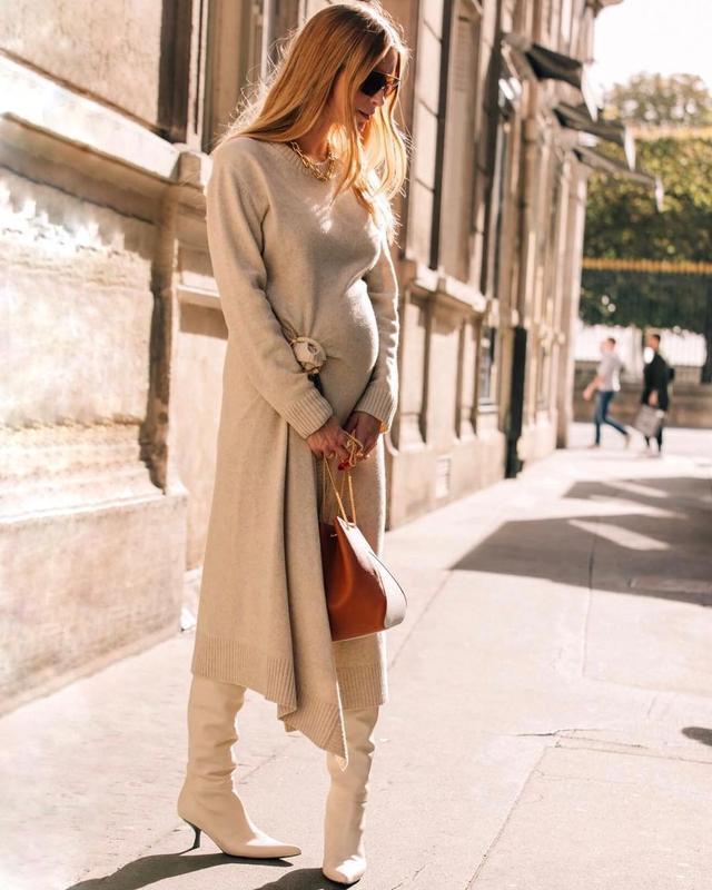 Paris boot trends: white
