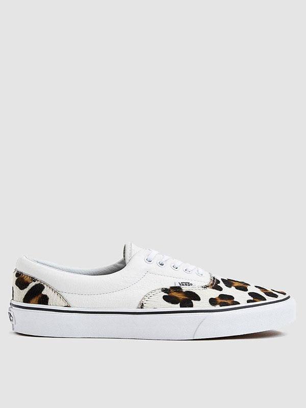 Era Sneaker in Leopard/True White