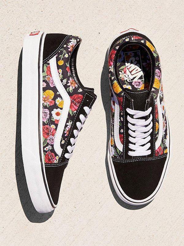 Old Skool Lux Floral Sneaker by Vans at Free People