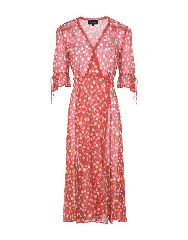 The Kooples Rosa Rosa Print Dress