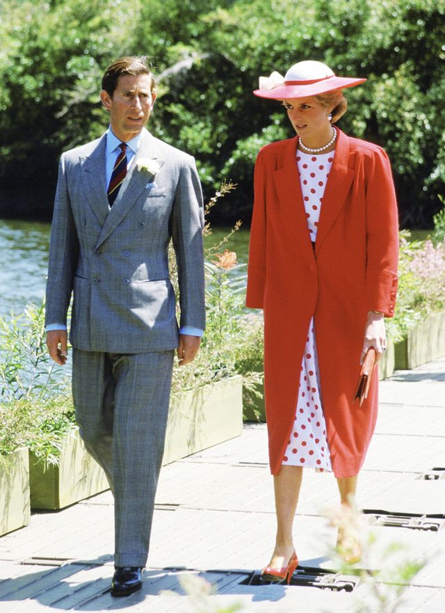 Princess Diana in Melbourne Outfits