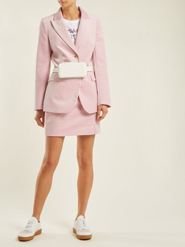 Alexa Velvet Mini Skirt