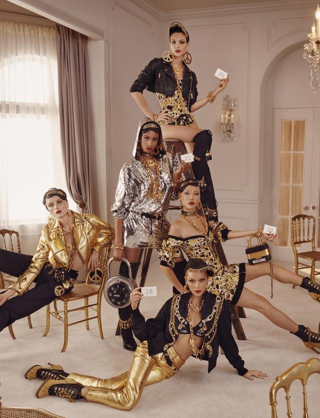 H&M x Moschino Campaign