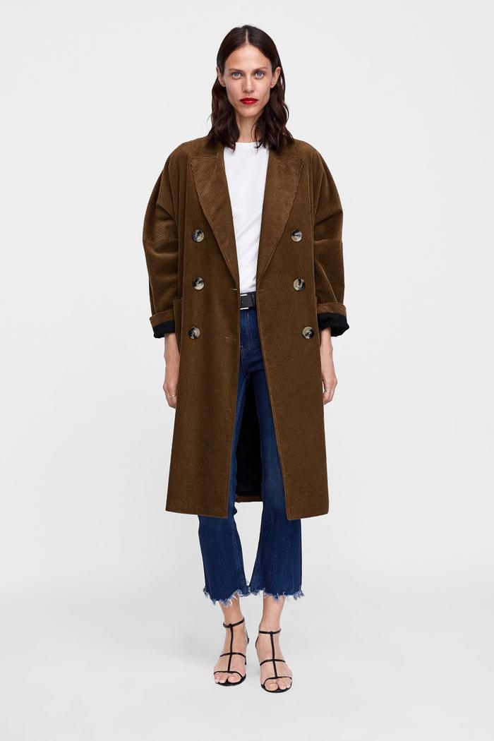 bf50cae1600c The Best Zara Coats of 2018