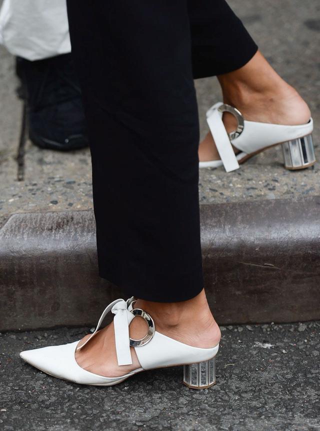 Proenza Schouler White Tie Heels