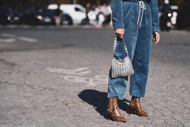 Street Style Brown Snakeskin Boots
