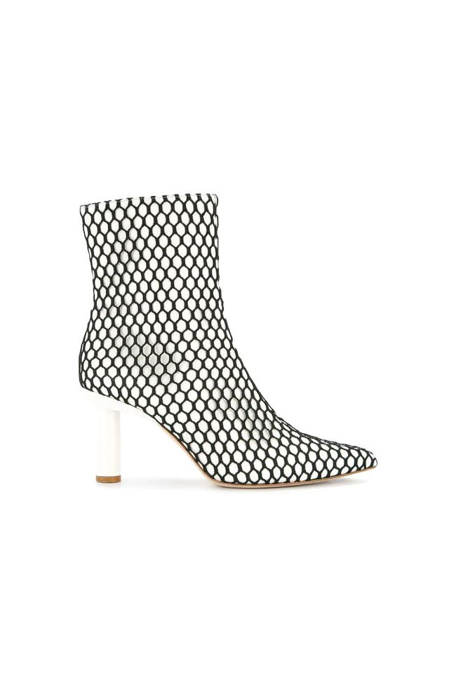 Mason fishnet boots
