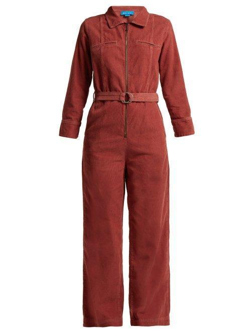 Drayson Cotton Corduroy Jumpsuit