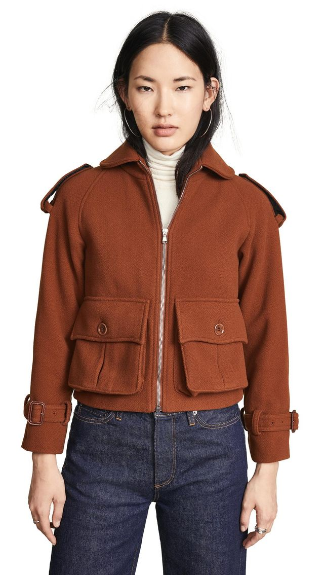 Jacket With Front Pockets