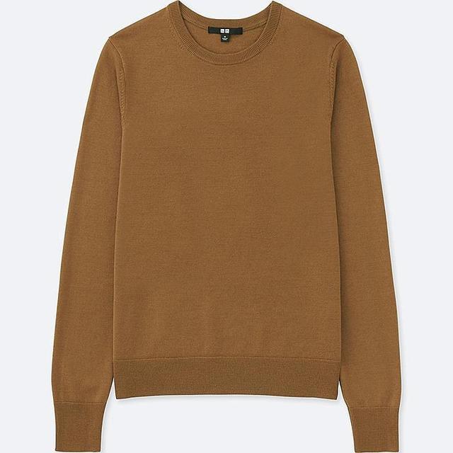 Extra Fine Merino Crewneck Sweater