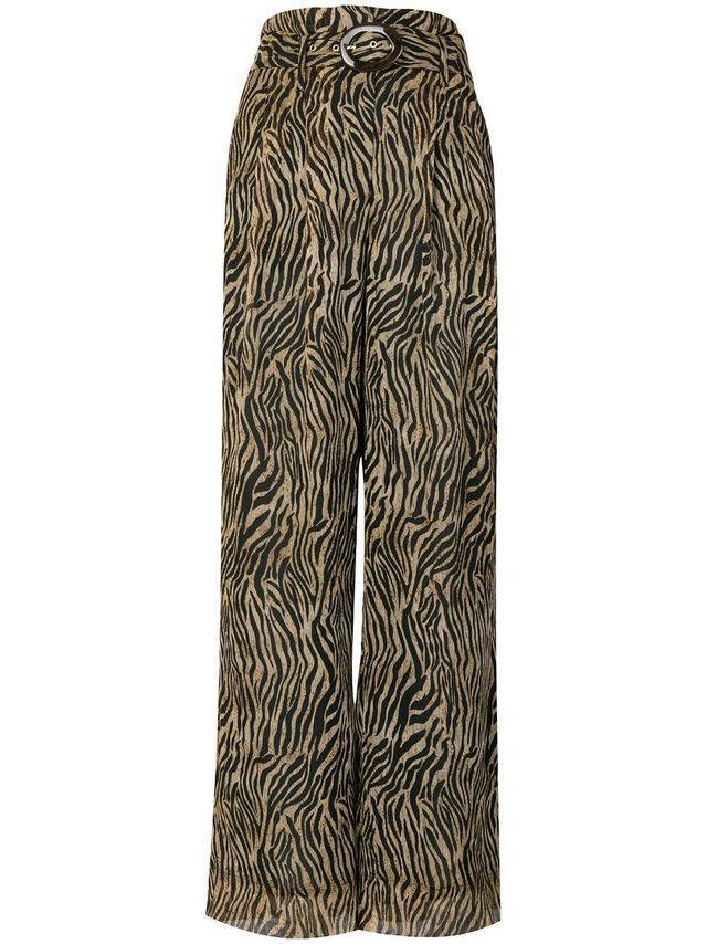 Nevada tiger print trousers