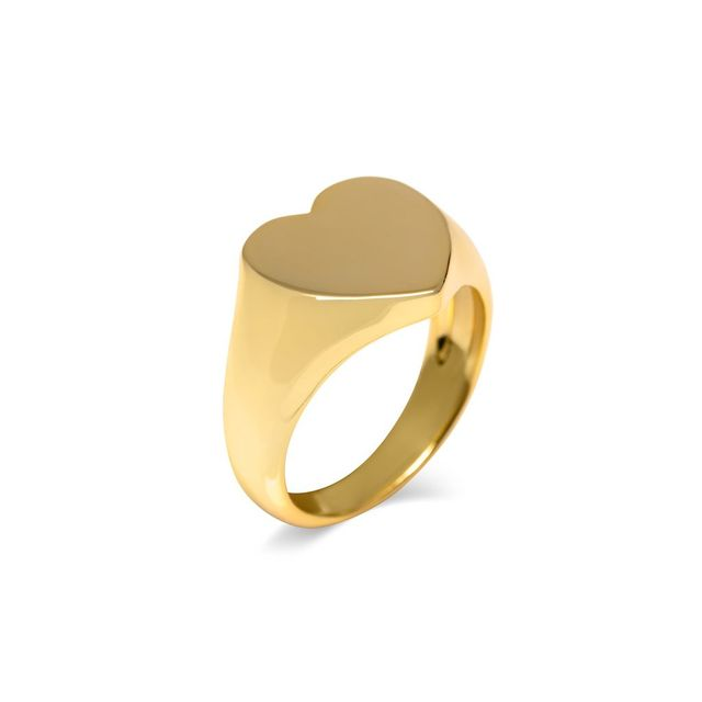 Alex Mika Heart Signet Ring