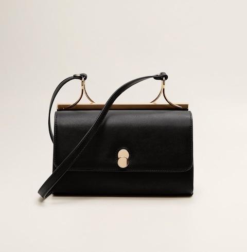 Metallic Details Bag