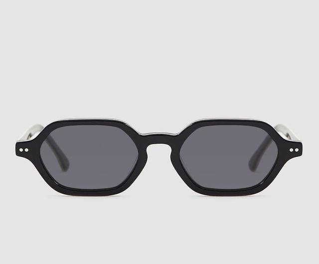 Shaun Sunglasses in Acetate Black Forest