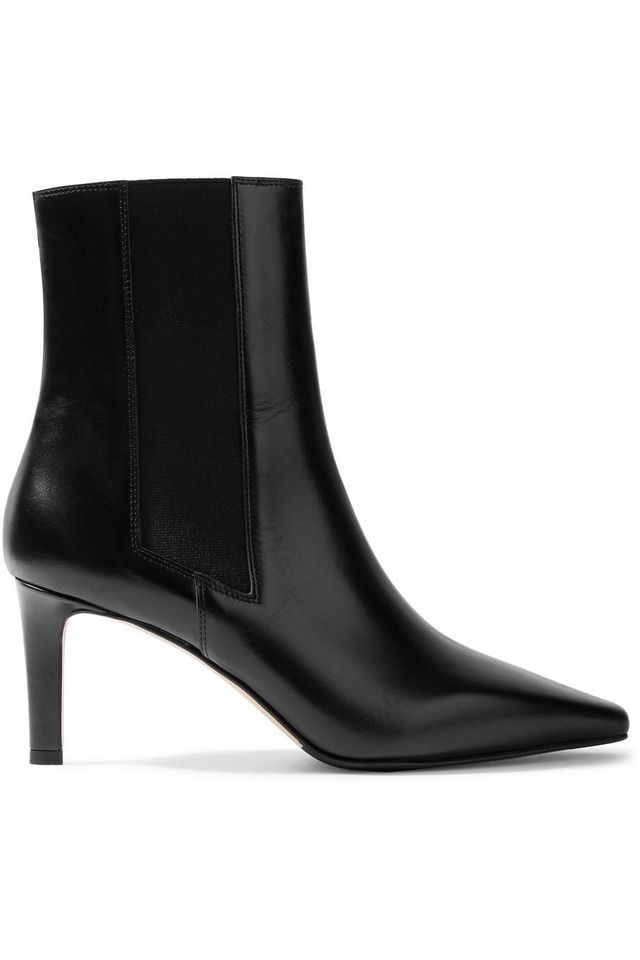 Leila Leather Ankle Boots