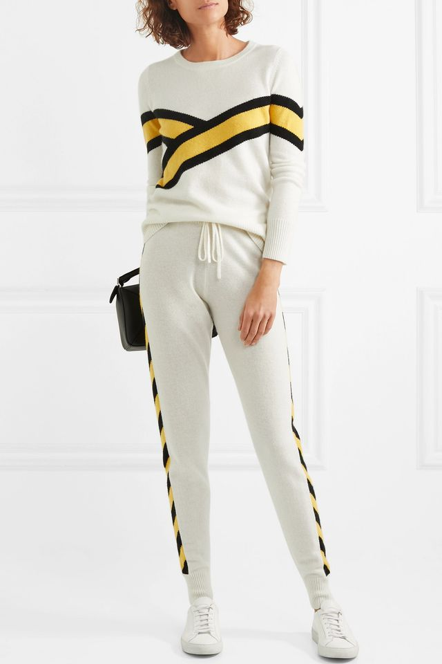 Akiva Striped Cashmere Sweater
