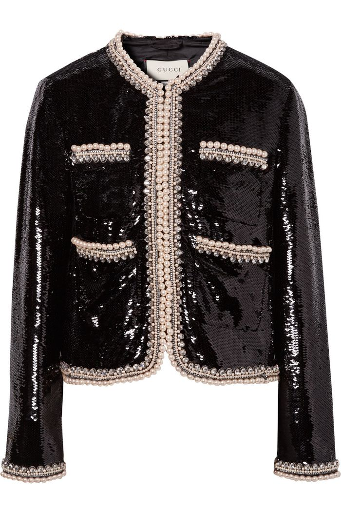 The Best Sequin Jackets To Wear Over The Holidays Who