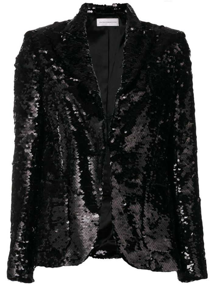 9ecb826245 The Best Sequin Jackets to Wear Over the Holidays