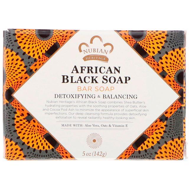 Nubian Heritage African Black Bar Soap