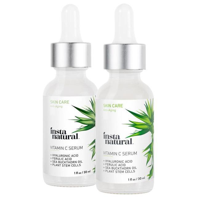 InstaNatural Vitamin C Serum 2-Pack Skin Kit