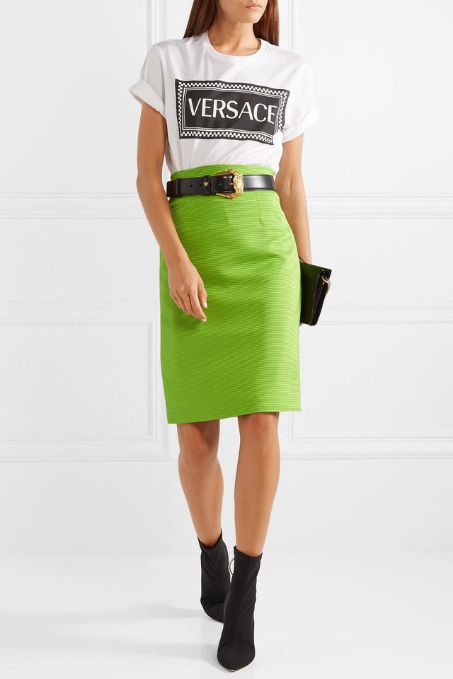 Ribbed-knit Skirt
