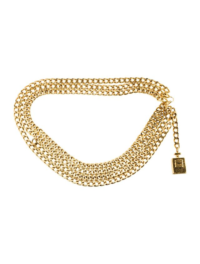 Chanel Vintage Coco Chain-Link Belt
