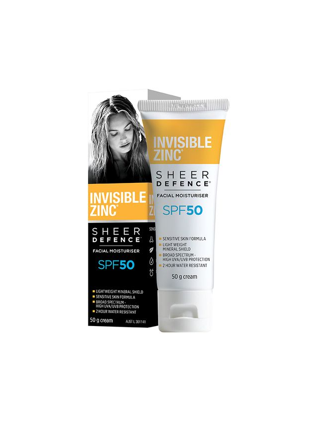 Invisible Zinc Sheer Defence Facial Moisturiser