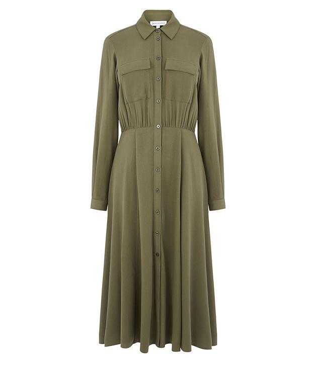 Warehouse Midi Shirt Dress