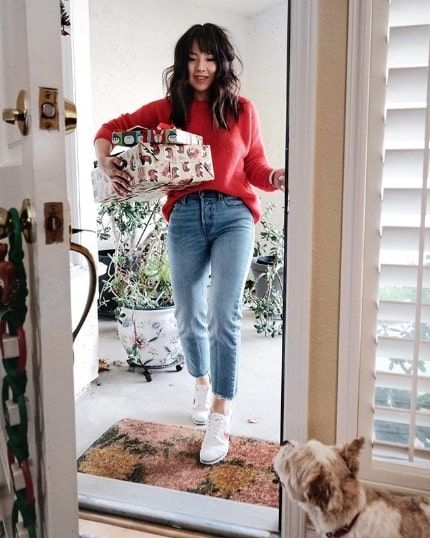 Pinterest - 15 Casual Christmas Party Outfits Who What Wear