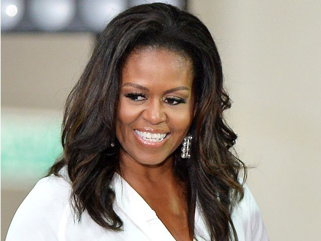 Michelle Obama White Dress Outfit