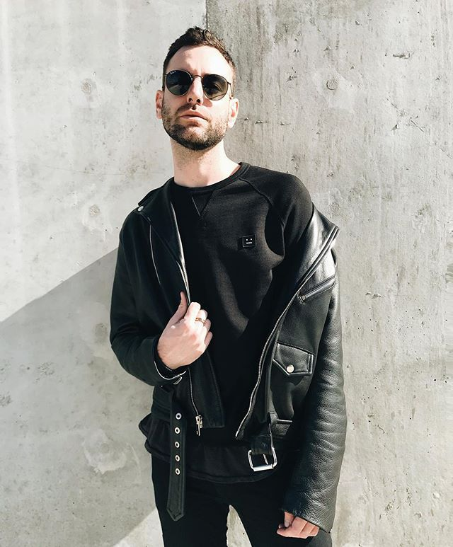 Men's Leather Jacket Outfit