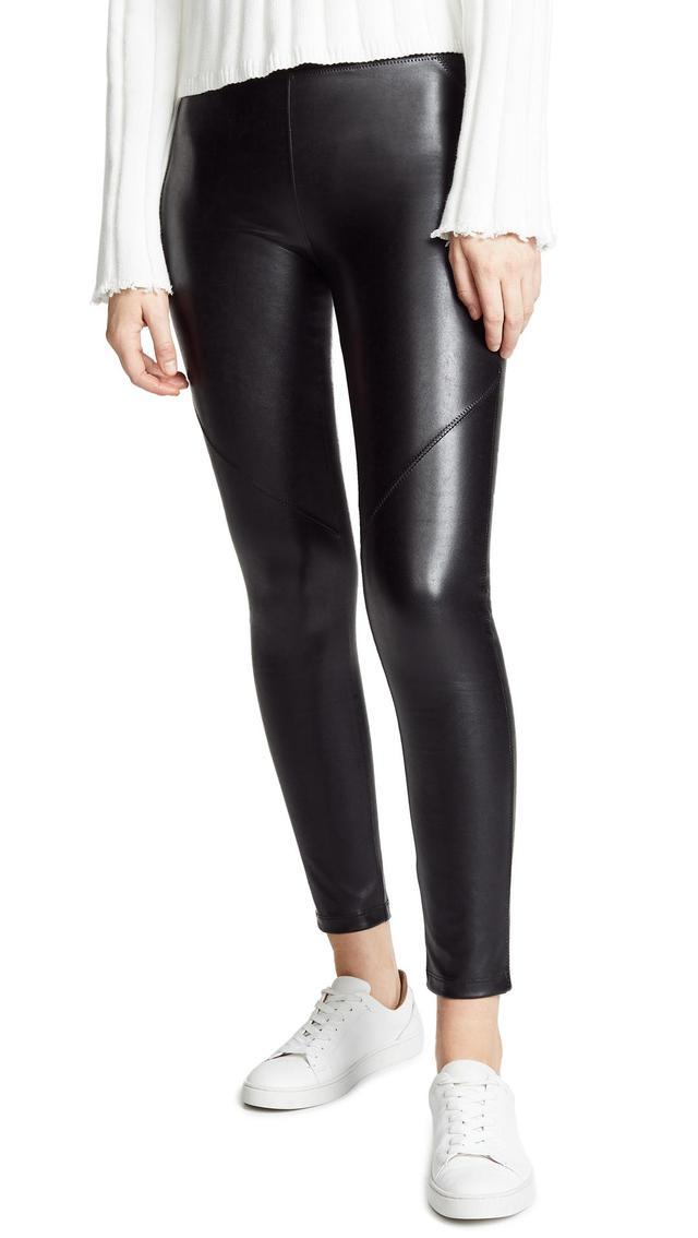 The Bergen Vegan Leather Pants