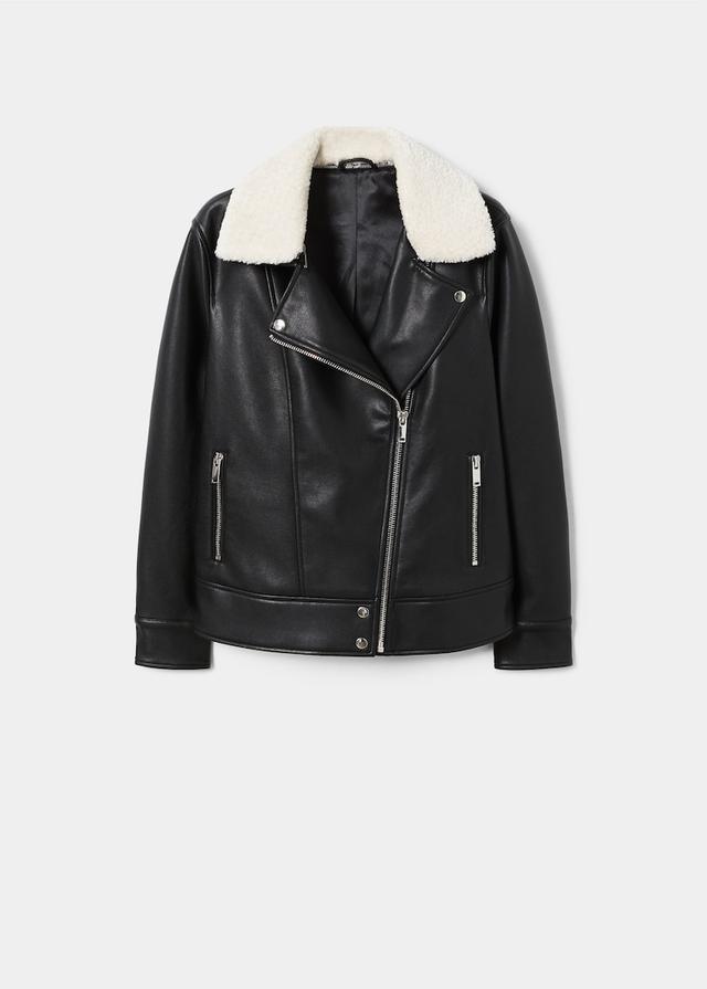 Violeta Shearling Collar Jacket