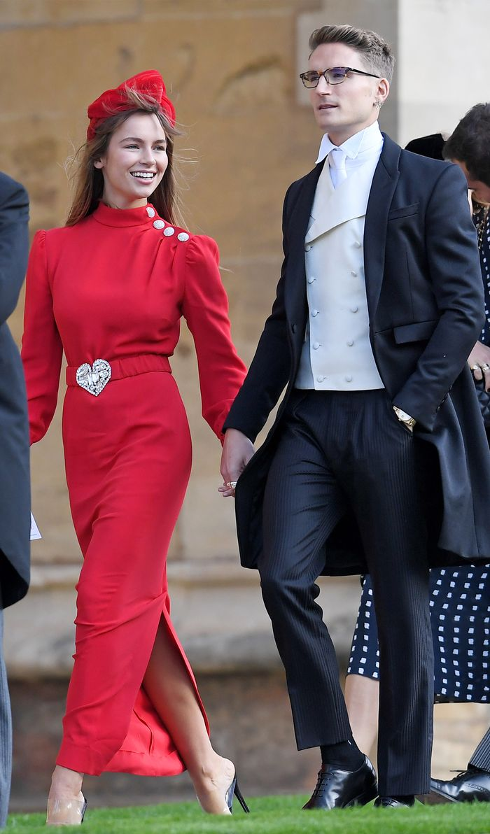 Royal Wedding Guests.Princess Eugenie S Royal Wedding Guest Outfits Who What Wear