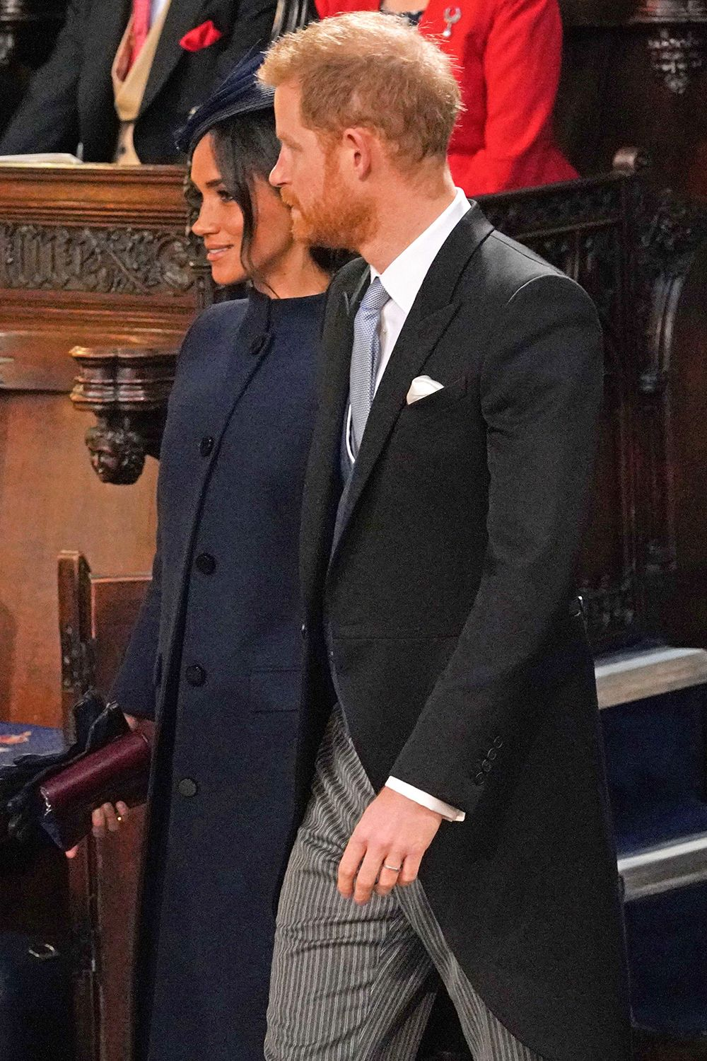 Meghan Just Took The Vb Route For Her Wedding Guest Outfit