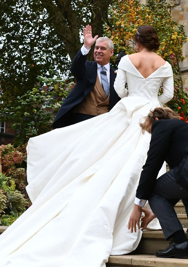 Princess Eugenie wedding dress: Peter Pilotto gown