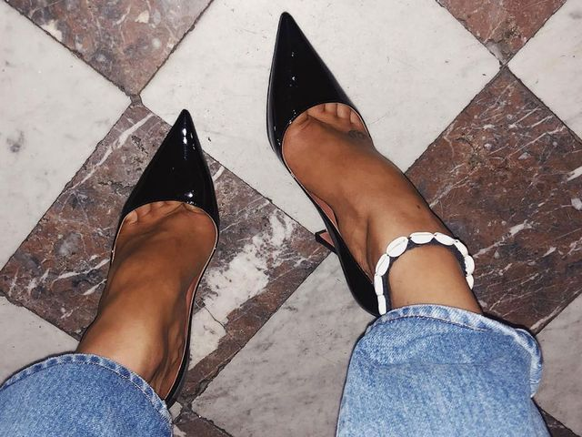 Pyramid Heels Trend