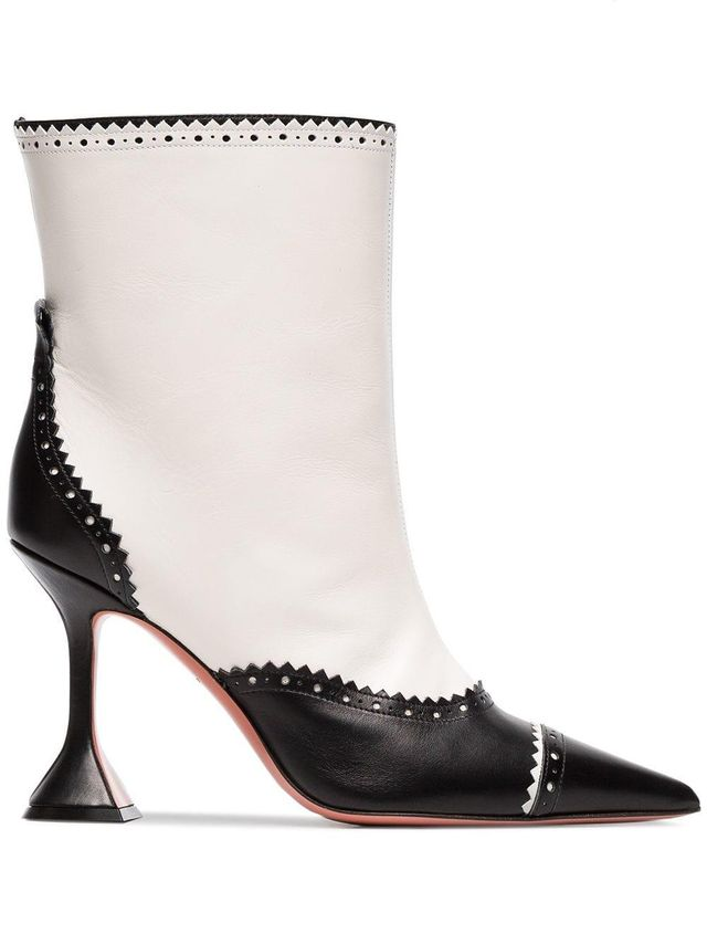 Charlie 95 Dome Heel Leather Boots