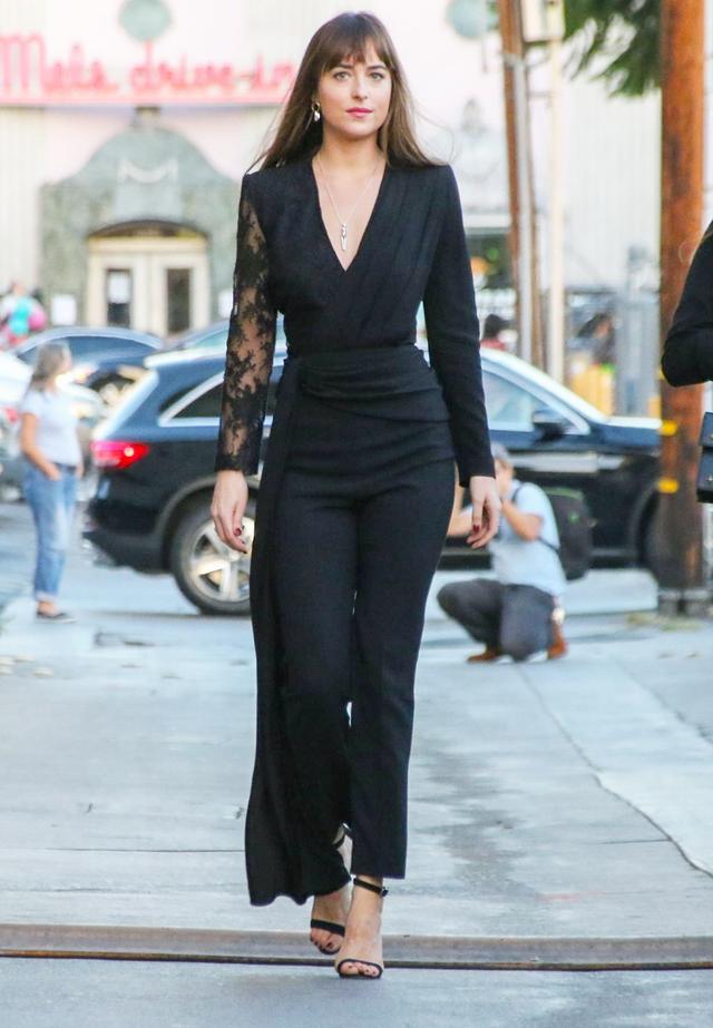 Dakota Johnson Suit