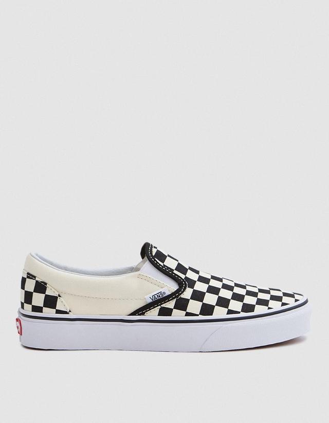 Classic Slip-Ons in Black/White Check