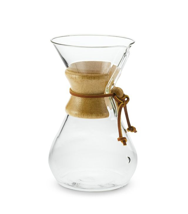 Chemex(R) 3-Cup Pour-Over Wood Collar Glass Coffee Maker