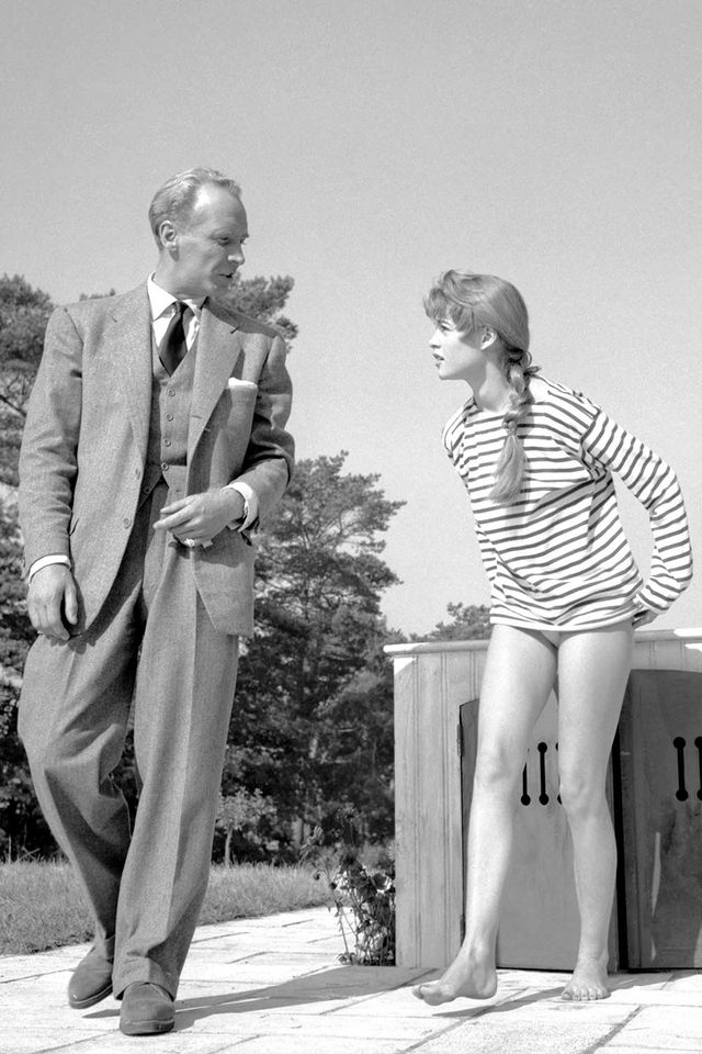 Brigitte Bardot Striped Tee