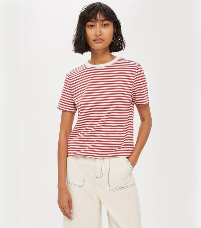 *Perfect Stripe T-Shirt by Selected Femme