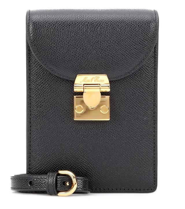 Mark Cross Josephine Leather Shoulder Bag