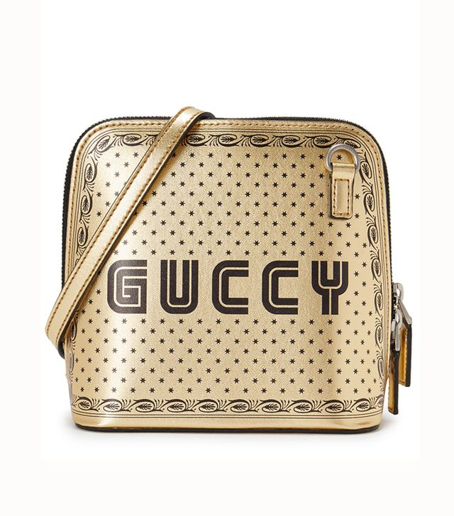 Gucci Guccy Mini Printed Leather Shoulder Bag