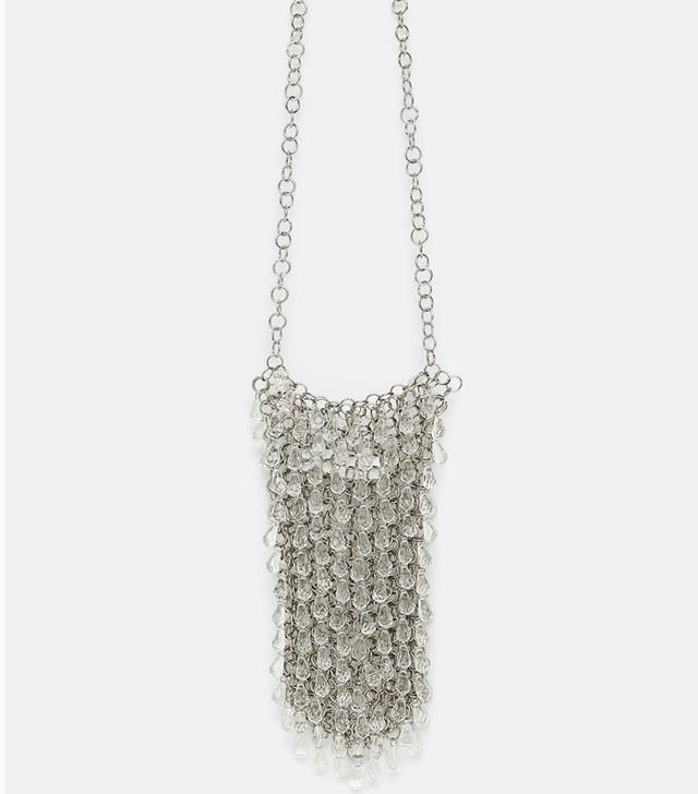 Zara Bejewelled Mini Crossbody Bag